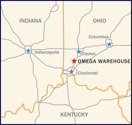 Omega Location Map